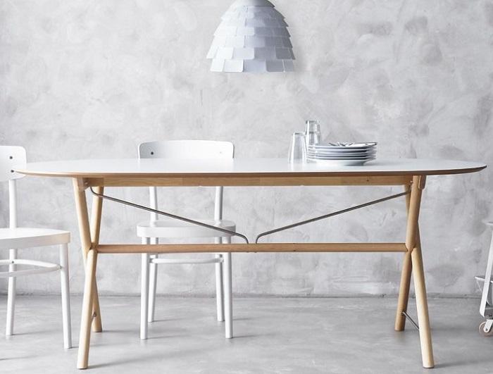Gua con 6 mesas Ikea baratas para un comedor lowcost