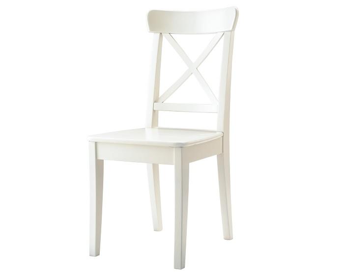 Da en el blanco con las sillas blancas Ikea para tu cocina