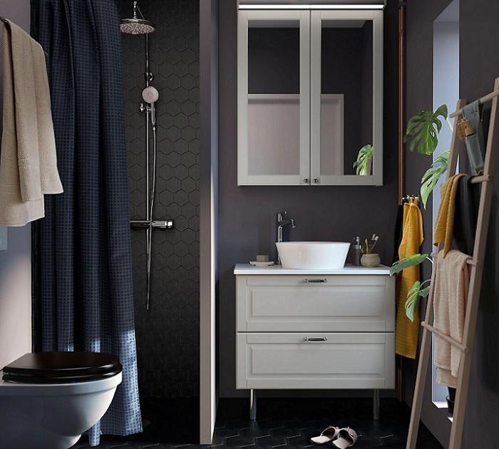 Disea baos estilo nrdico con Ikea muy decorativos y