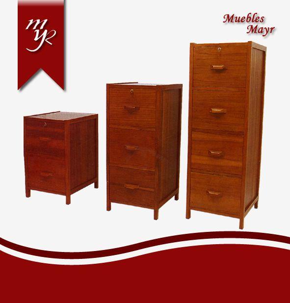 Sistemas de almacenamiento muebles mayr - Archivadores de madera ...