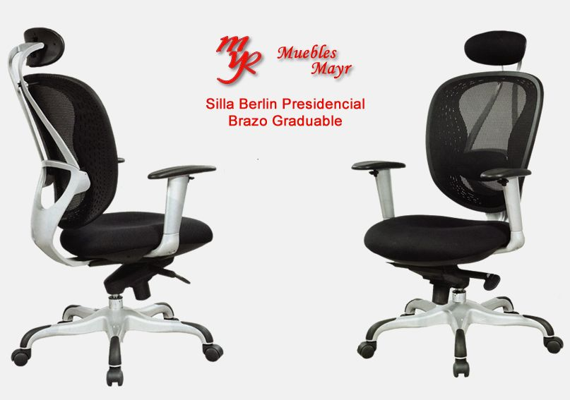 Sillas presidenciales para oficina en bogota muebles mayr for Silla presidencial