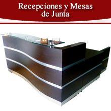 Venta de Recepciones y Mesa de Junta en bogota y toda colombia