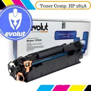Toner Evolut compatível com impressoras M125nw / 127fn / 127fw (283a) da HP