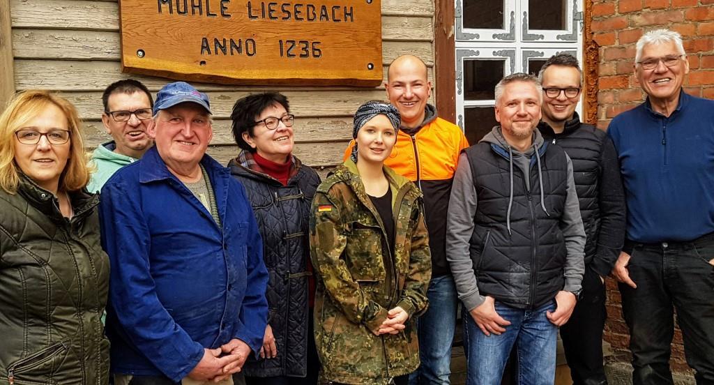 VW-Ehrenamtsaktion am 2. März 2019 in der Mühle