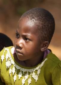 Mädchen in Lutindi, Tansania, 2010