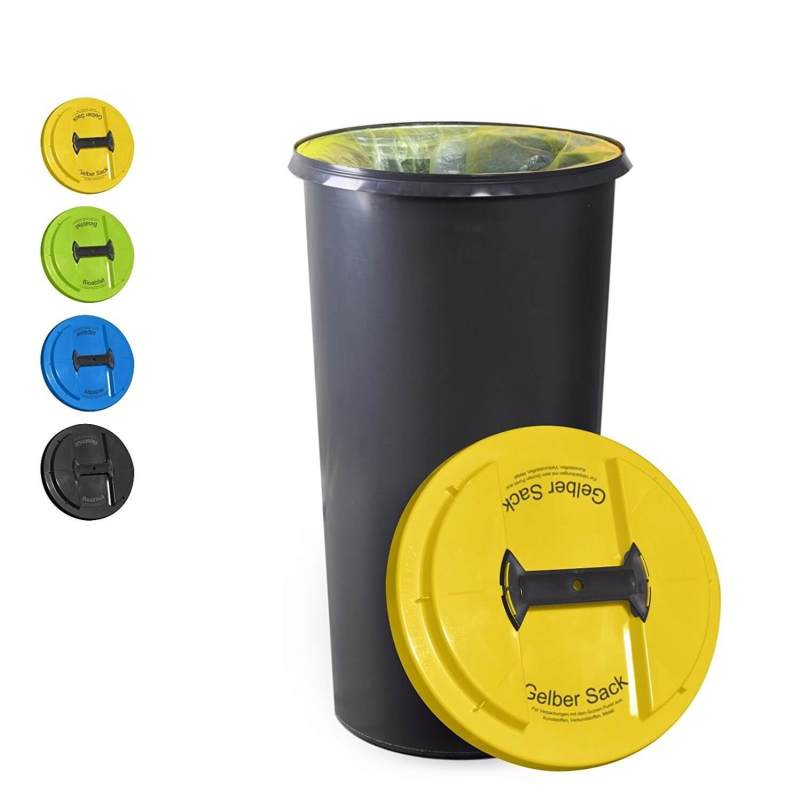 Kuefa 60 Liter Tonne für gelben Sack