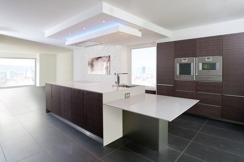 küche farben modern  schlafzimmer tapeten ideen  wie