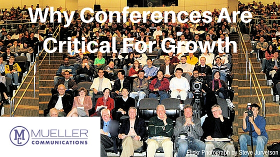 Why Conferences Are Critical For Growth