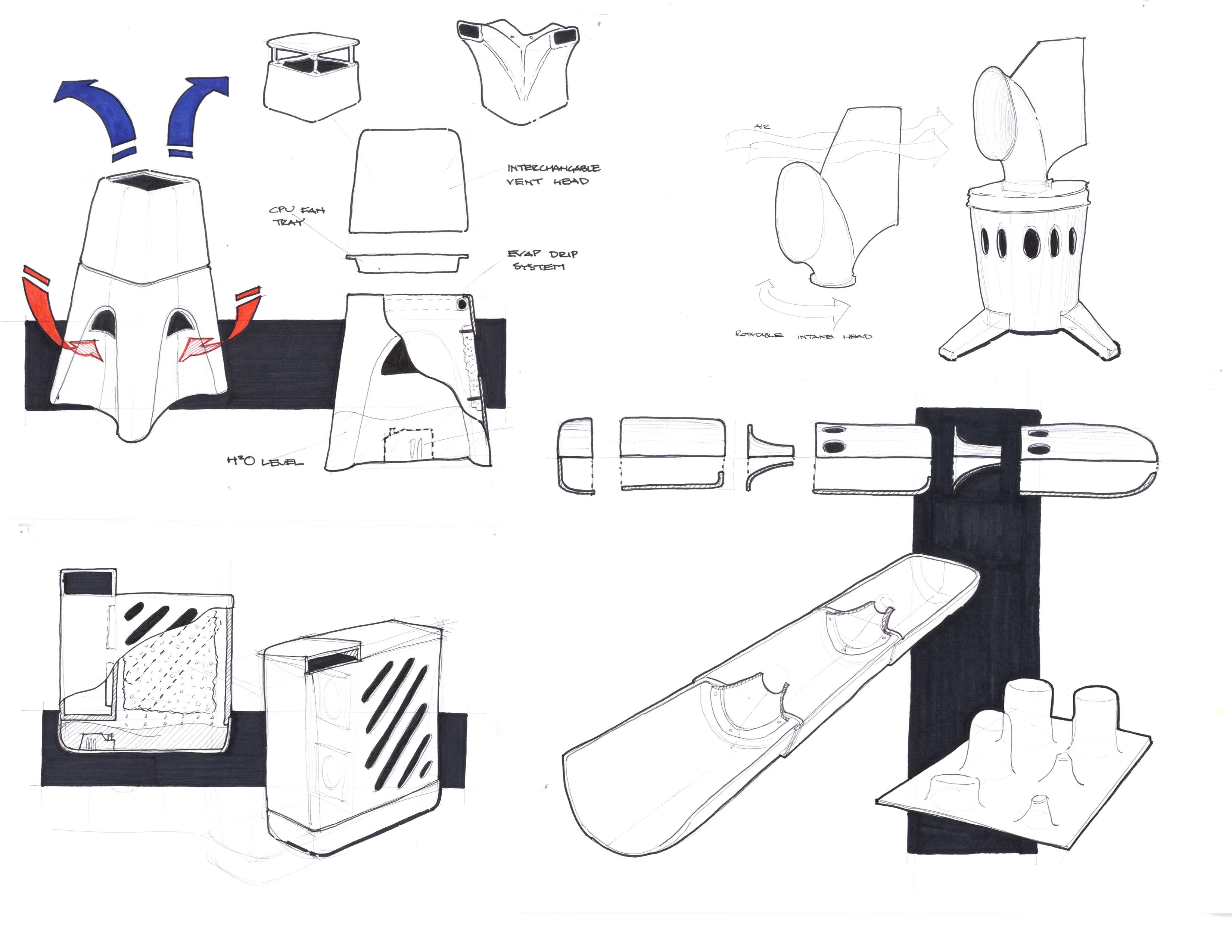 D.I.Y. Inspired Evaporative Cooler Design for Remote