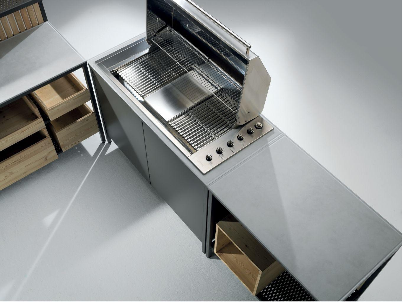 Outdoor Küche Edelstahl Schrank | Outdoorküche Planen ...