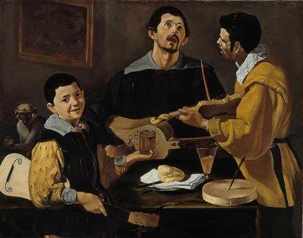 »Die drei Musikanten«   © Staatliche Museen  zu Berlin, Gemäldegalerie, Foto: Jörg P. Anders
