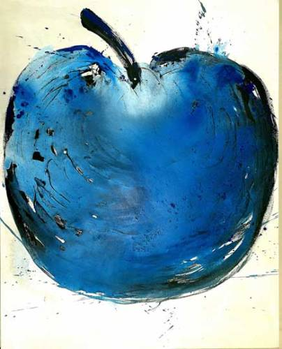 »Blauer Apfel Nr. 2« © Wang Yani
