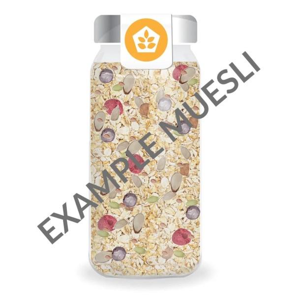 customized muesli example