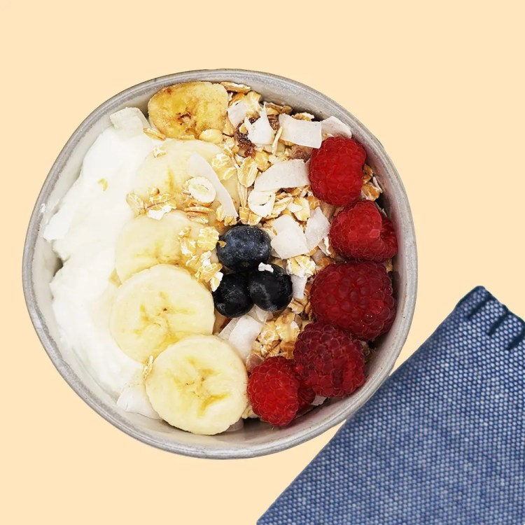 Muesli is delicious without any added sugar