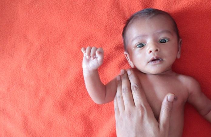 Baby Zu Dünn
