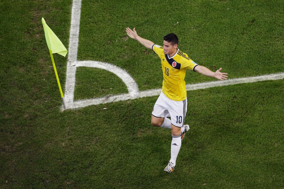James+Rodriguez+Colombia+v+Uruguay+Round+16+9y49l1xutQhx