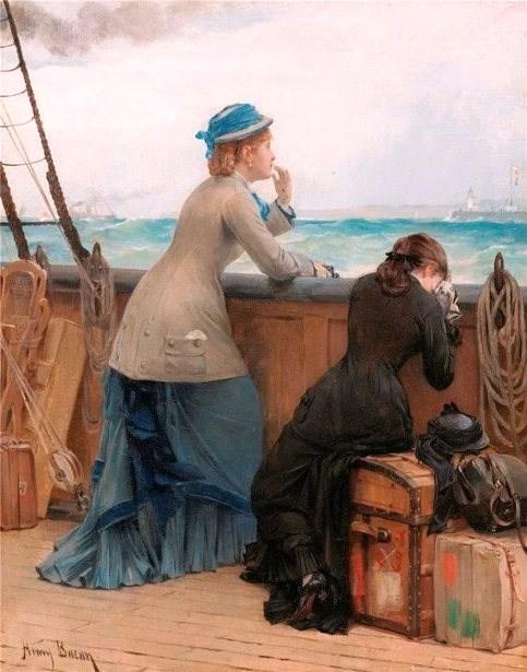 Henry Bacon (American artist, 1839–1912) goodbye