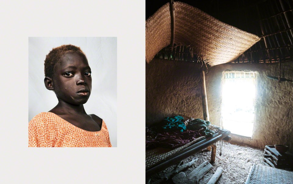 Autor James Mollison. Na fotografiji: Syra, 8, Iwol, Senegal