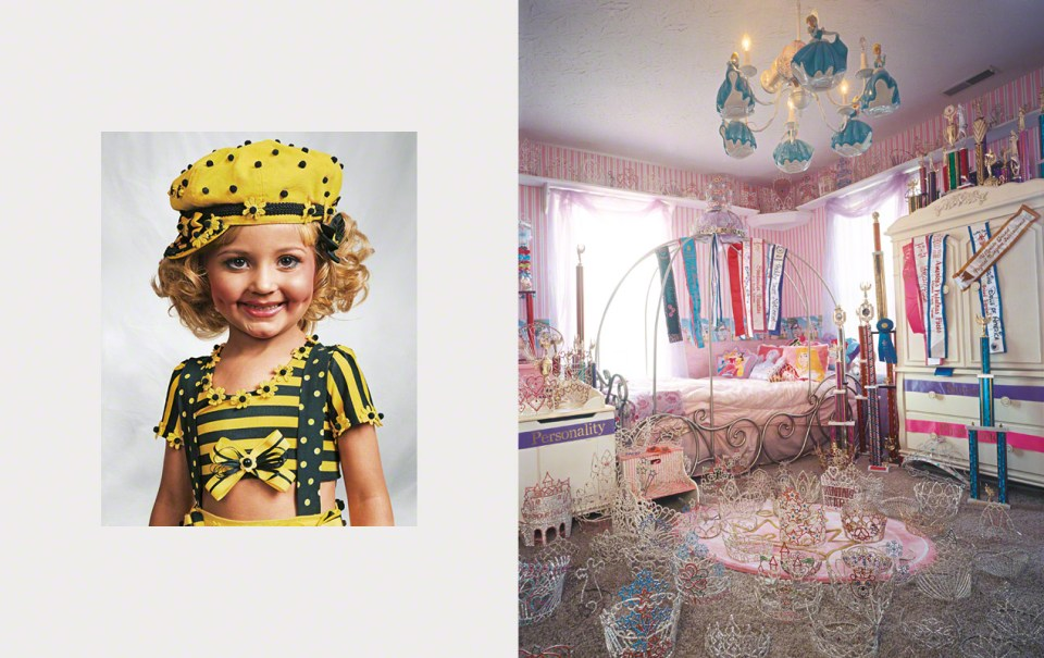 Autor James Mollison. Na fotografiji: Jazzy, 4, Kentucky, SAD