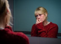 Programme Name: Happy Valley - TX: n/a - Episode: n/a (No. n/a) - Picture Shows:  Catherine (SARAH LANCASHIRE) - (C) Red Productions - Photographer: Ben Blackall