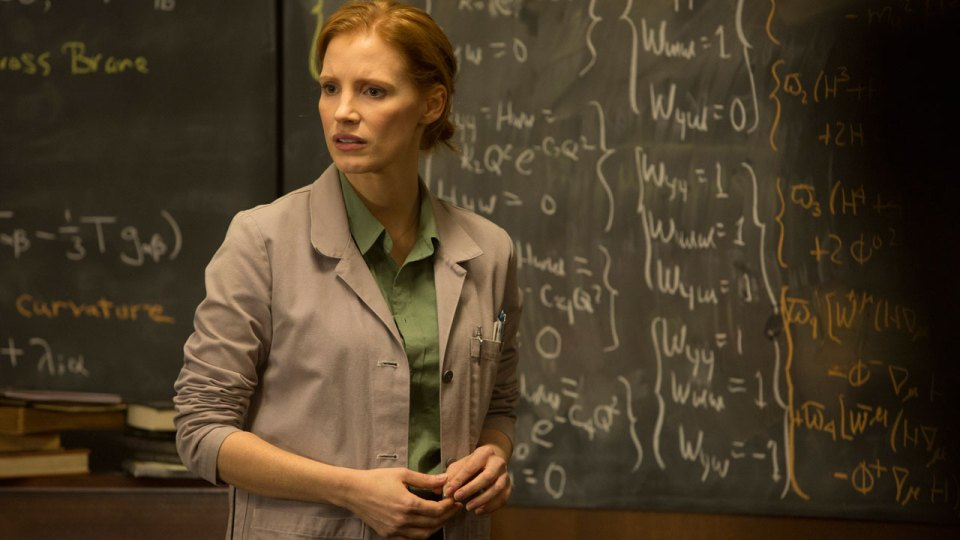 "Jessica Chastain kao Murph u ""Interstellaru"""