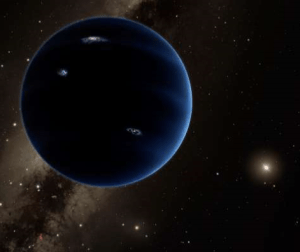 © Associated Press This artistic rendering provided by California Institute of Technology shows the distant view from Planet Nine back towards the sun.