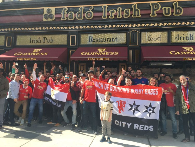 MUFC Fans Chicago