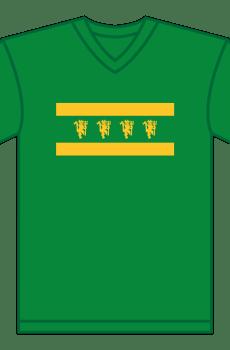 United Legacy Fans V-Neck T-Shirt