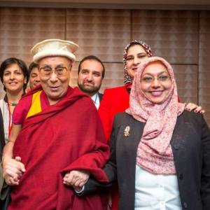 Dalai Lama meets with American Muslims