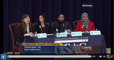 "Muflehun Discusses ""Combating Violent Extremism"" at OSAC 30th Annual Briefing"