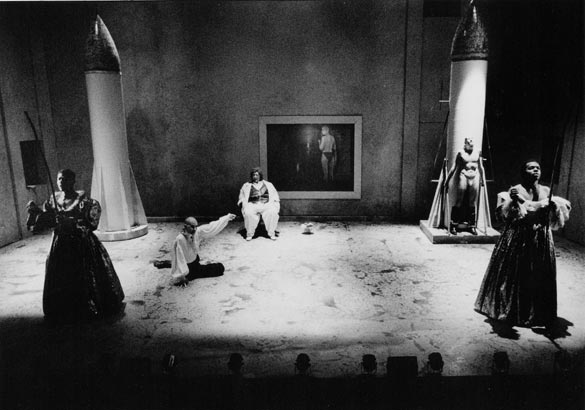 """The Interrogation Scene"" from Hip-Hop. Photo: R. Kaufman."