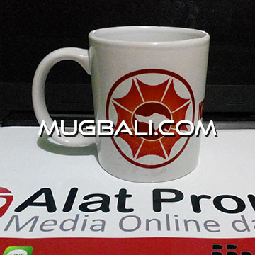 Contoh cetak mug pesanan LPD Krama Bali