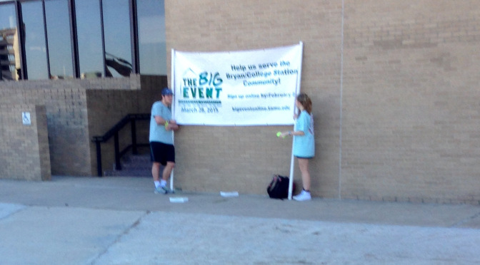 Sorority Girl Holding Banner Does Not Know Event Name – The