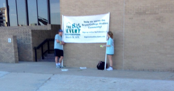 Student Orgs Begin Outsourcing Banner Holding To Foreign Exchange Students