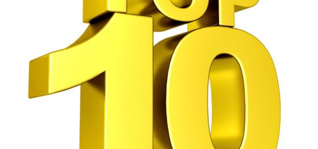 The Top 10 Top 10 Top 10 Lists