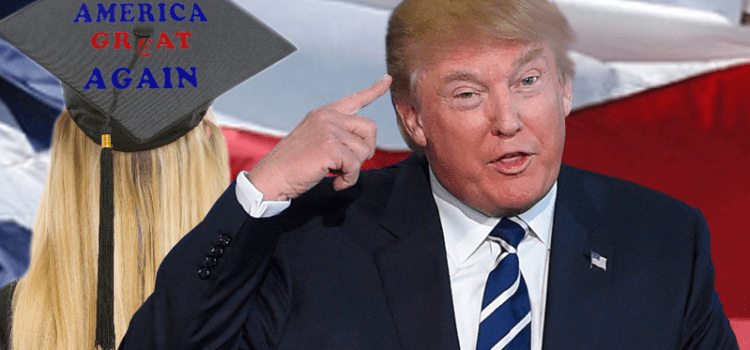 Donald Trump Explains Texas Colleges