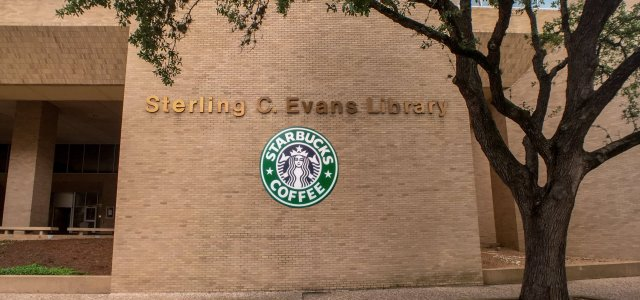 Evans Library to Become Six-Story Starbucks