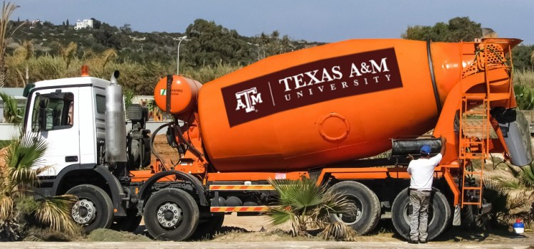 Knife River Named Official Cement Truck of Texas A&M