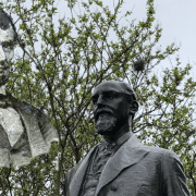 Activists Deface Sully Statue with Image of Wartime Enemy