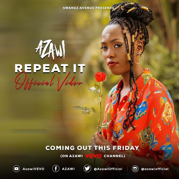 "Swangz Avenue's Azawi premiers ""Repeat It"" Music Video. Watch Here 5 MUGIBSON WRITES"