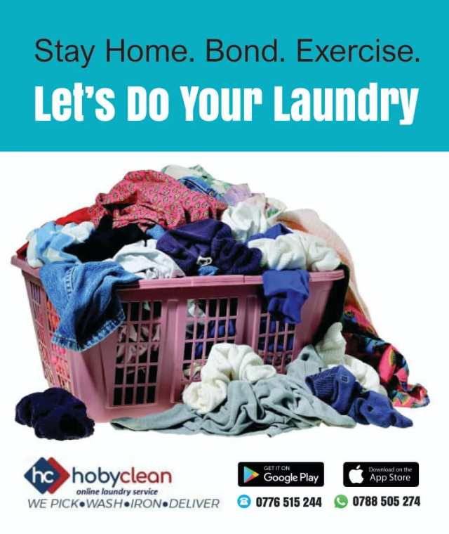 Introducing Hoby Clean: a revolutionary online on-demand Laundry service. 5 MUGIBSON WRITES