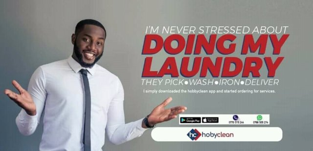 Introducing Hoby Clean: a revolutionary online on-demand Laundry service. 3 MUGIBSON WRITES