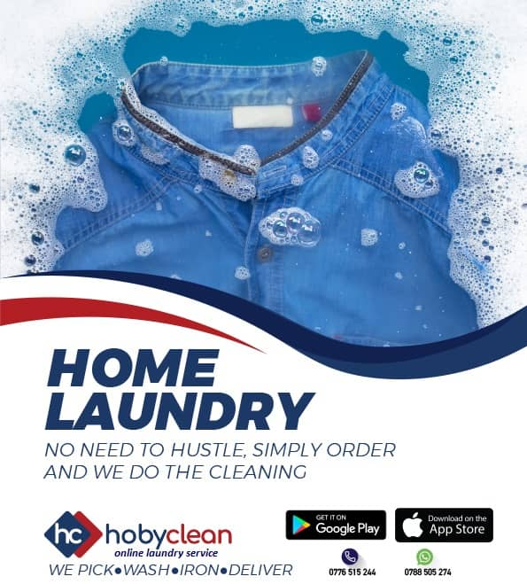 Introducing Hoby Clean: a revolutionary online on-demand Laundry service. 6 MUGIBSON WRITES