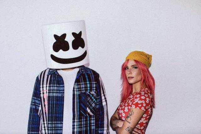 New Music: Halsey and Marshmello's heartfelt new single 'Be Kind'. Listen Here: - 6 MUGIBSON WRITES