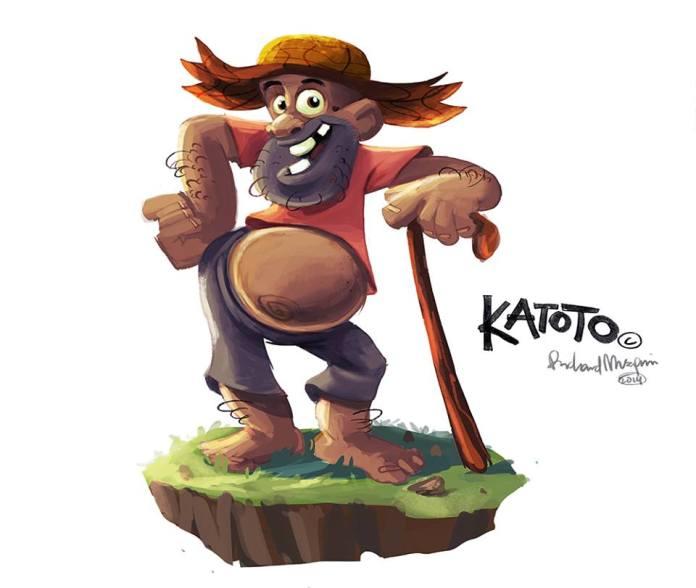 Ugandan animation Katoto in COVID19 Awareness Campaign 2 MUGIBSON