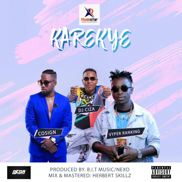 DJ Ciza, Cosign and Vyper Ranking out 'Karekye' visuals. Watch Here: -   3 MUGIBSON WRITES