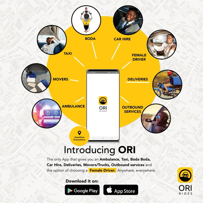 Introducing Ori Rides; the 8 in 1 Transit App: 4 MUGIBSON WRITES