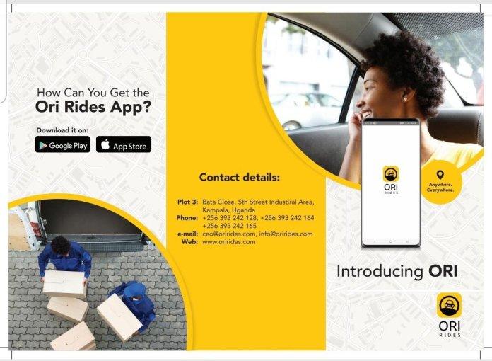 Introducing Ori Rides, the 8 in 1 Transit App 8 MUGIBSON