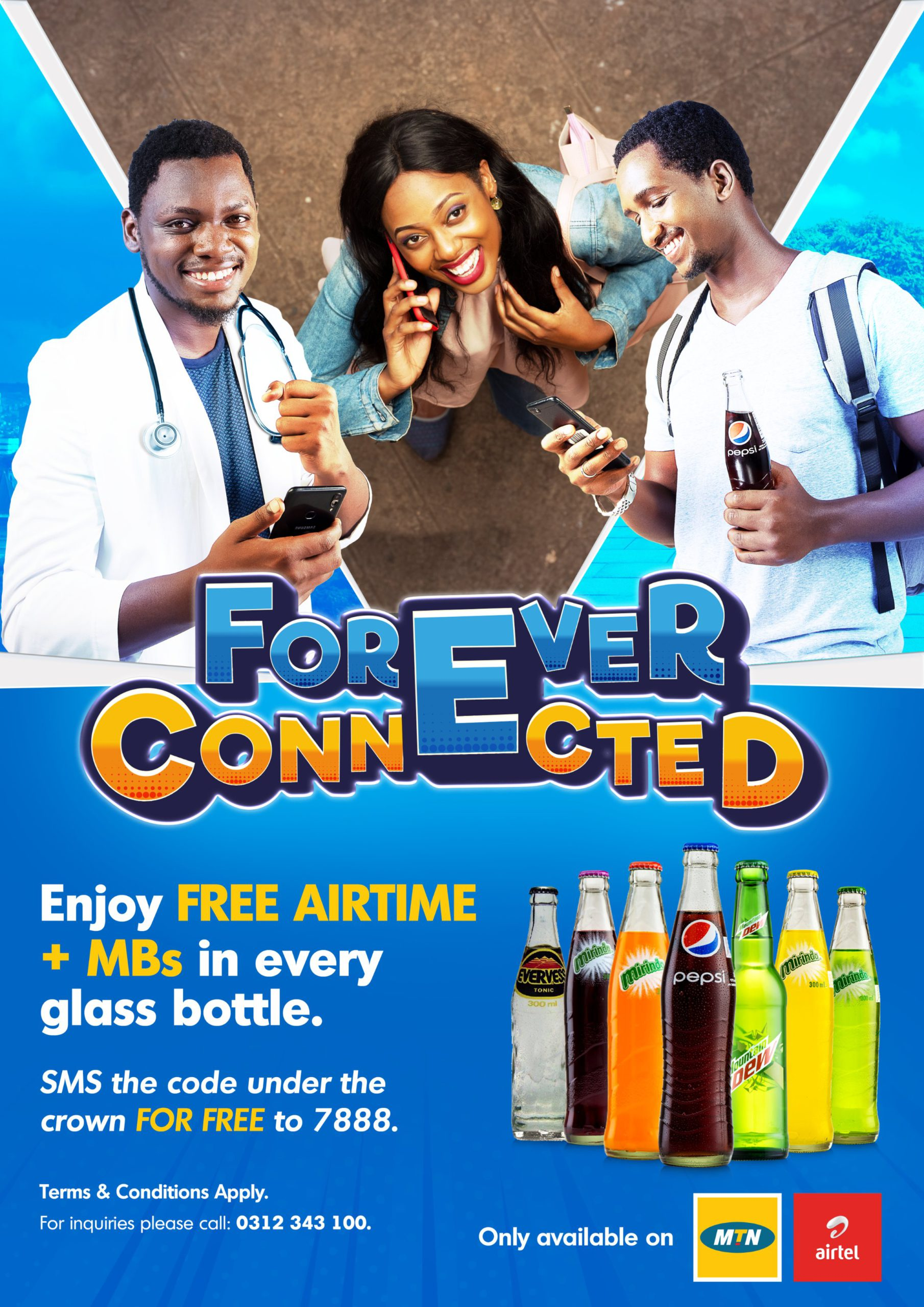 Crown Beverages Limited partners with MTN & Airtel in new 'Forever Connected' consumer campaign 1 MUGIBSON WRITES