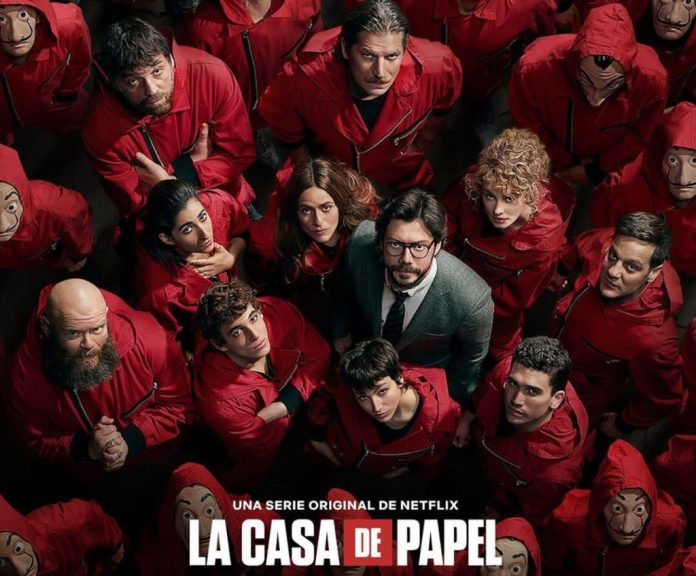 Netflix announces fifth and final lap for blockbuster series 'Money Heist' 2 MUGIBSON WRITES